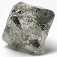unpolished diamond
